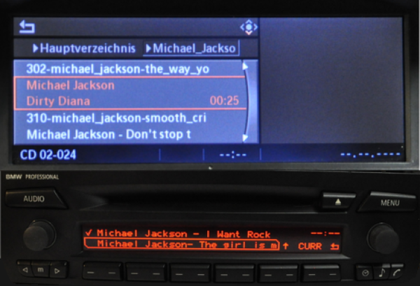 CP700BMW - SD MP3 Player